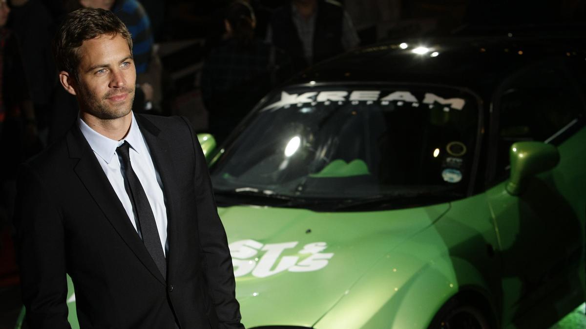 Una imagen  del actor fallecido en 2013  Paul Walker