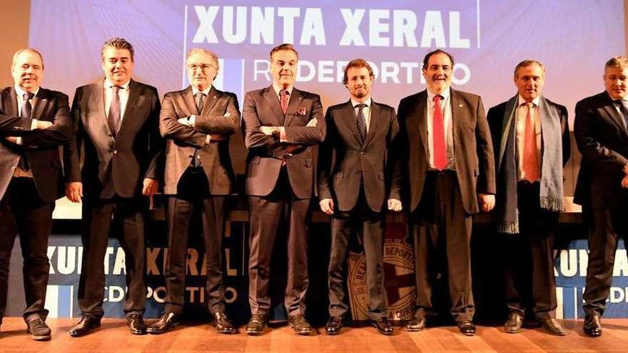 Fernando Vidal y consejeros del Deportivo desmienten a Miguel Otero
