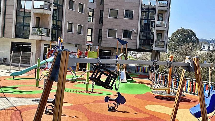 El Concello dota un parque en Mariñamansa y el PP se atribuye la autoría de esta obra durante el bipartito