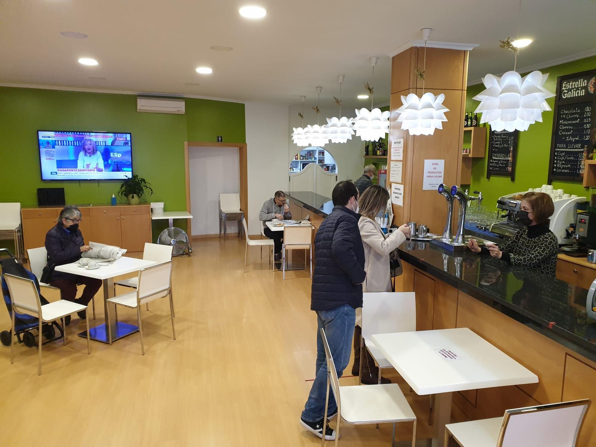 Cafeteria O Patín.