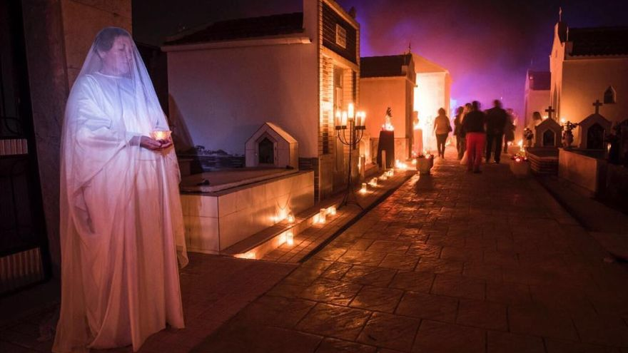 'Don Juan Tenorio' vuelve al cementerio de San Javier