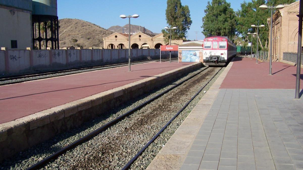 Estación de tren de Águilas