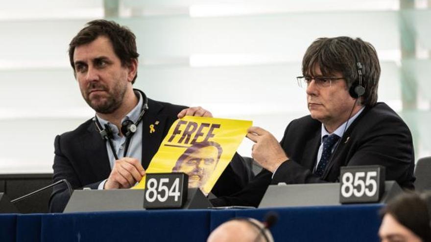 La Eurocámara inicia el suplicatorio contra Puigdemont