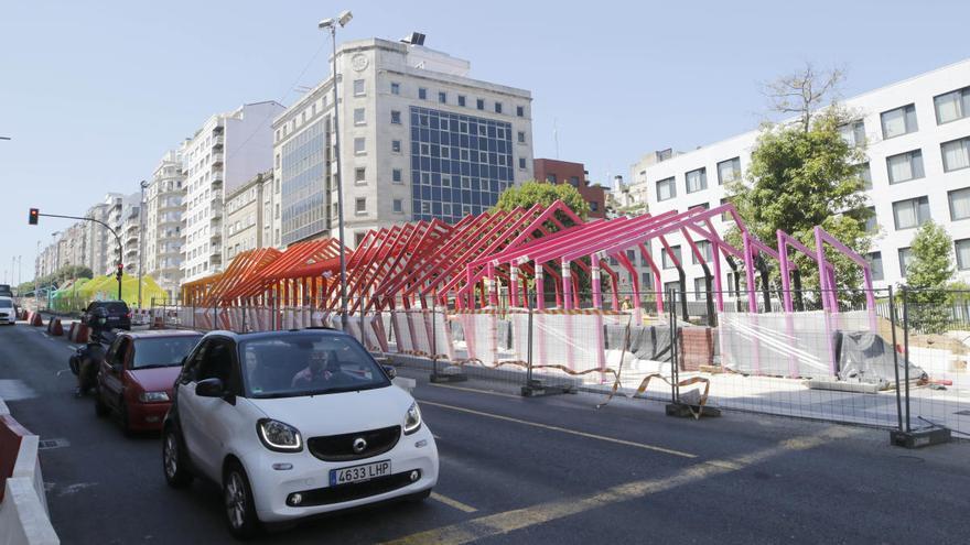 La circulación se complica en la Gran Vía de Vigo durante cinco días
