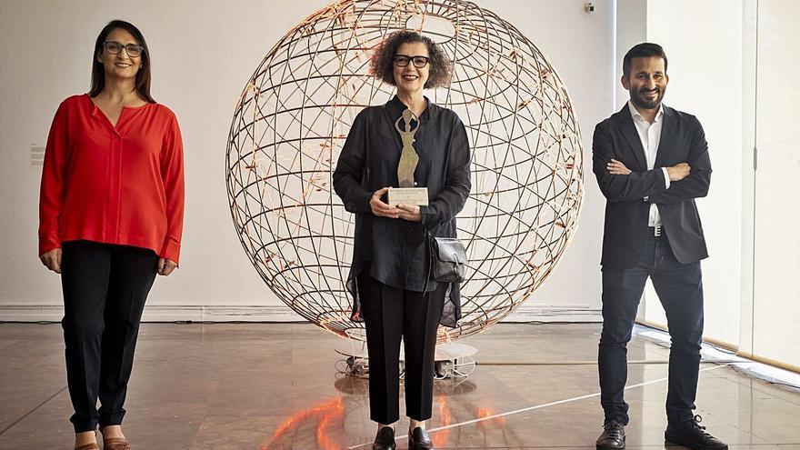 Mona Hatoum recibe el Premio Julio González en el IVAM