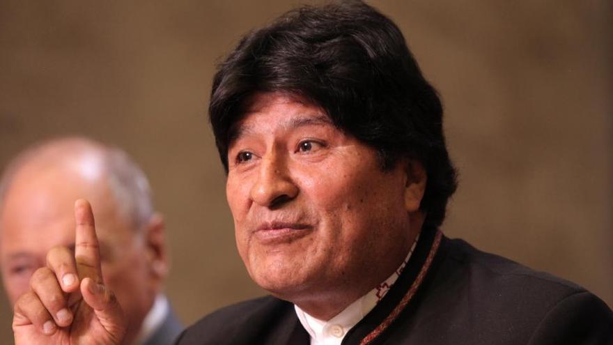 La justicia anula la orden de detención contra Evo Morales