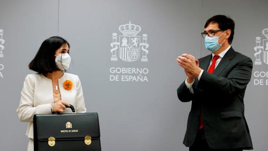 """Darias, ministra de Sanidad: """"Seguiré la senda trazada"""""""
