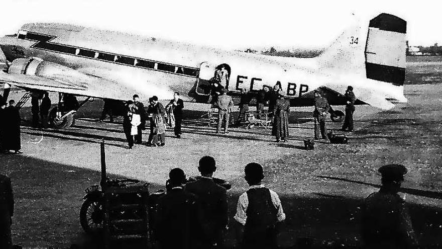 Son Bonet cumple cien años del  primer aterrizaje