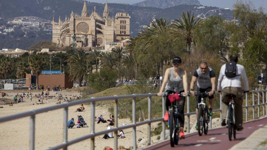 El tiempo en Mallorca: marzo se despide con máximas de hasta 25 grados