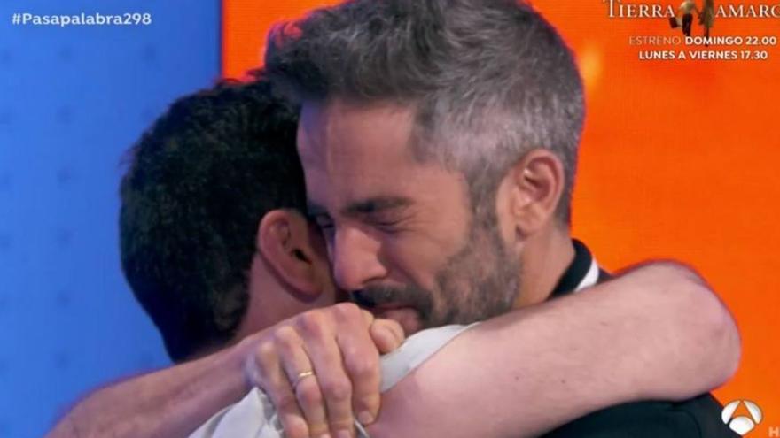 Las lágrimas de Pablo Díaz y Roberto Leal en Pasapalabra