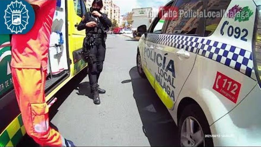 Detenido en Ciudad Jardín por golpear en la cabeza y agredir con un cuchillo a su pareja, que logró escapar