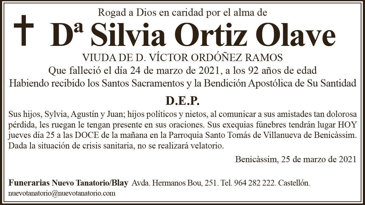 Silvia Ortiz Olave
