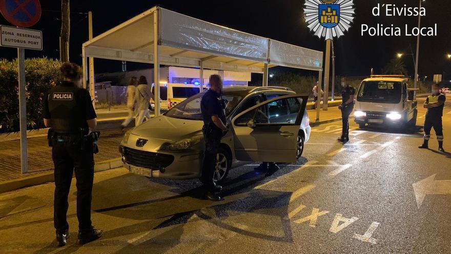 Denunciado en Ibiza un conductor de VTC tras dar positivo en cocaína