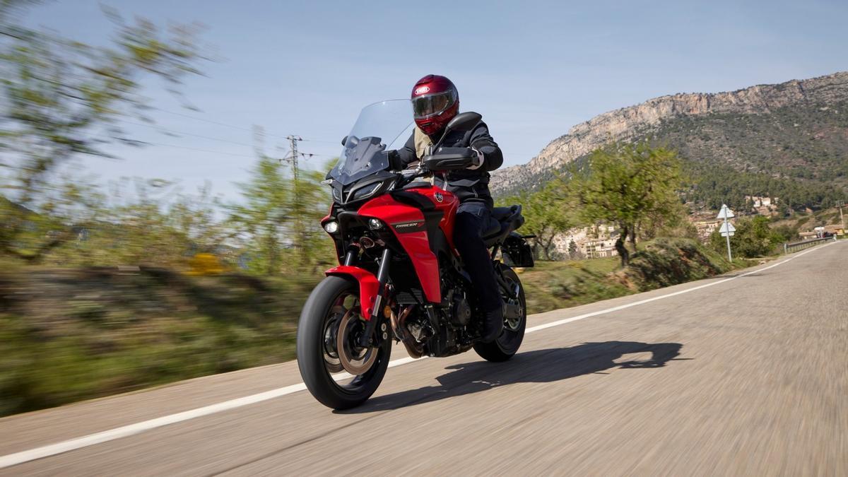 Yamaha Tracer9, más dinámica que nunca