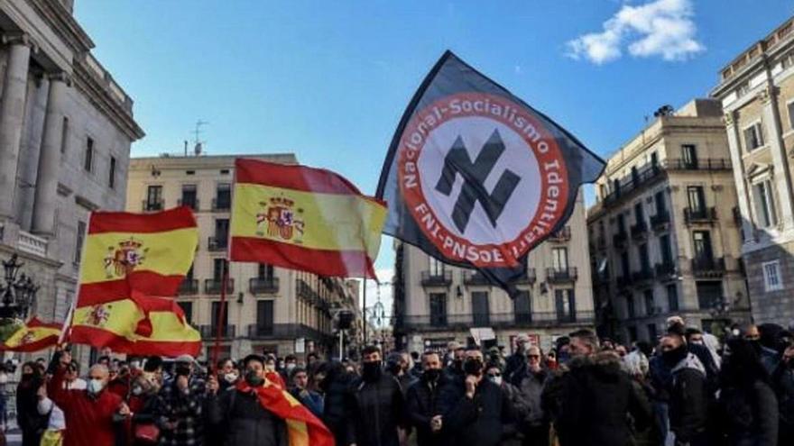 Multaran l'exhibició de simbologia nazi amb fins a 40.000 euros