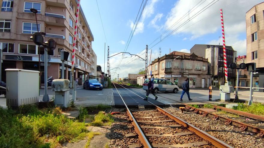 Adif soterrará 320 metros de vía férrea para eliminar el paso a nivel de Porriño