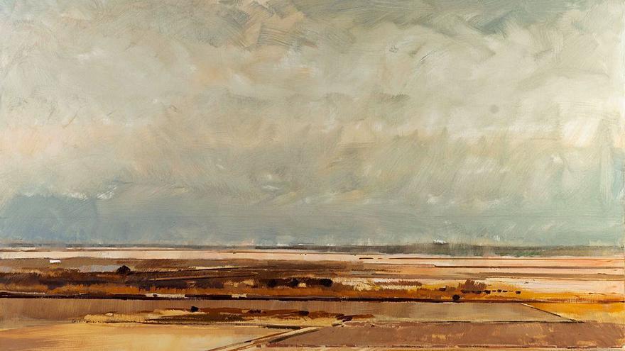 'Terres i temps', l'evocadora mostra pictòrica de paisatges d'Esteve Adam