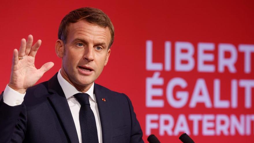 Macron anuncia su nuevo plan contra el separatismo islámico