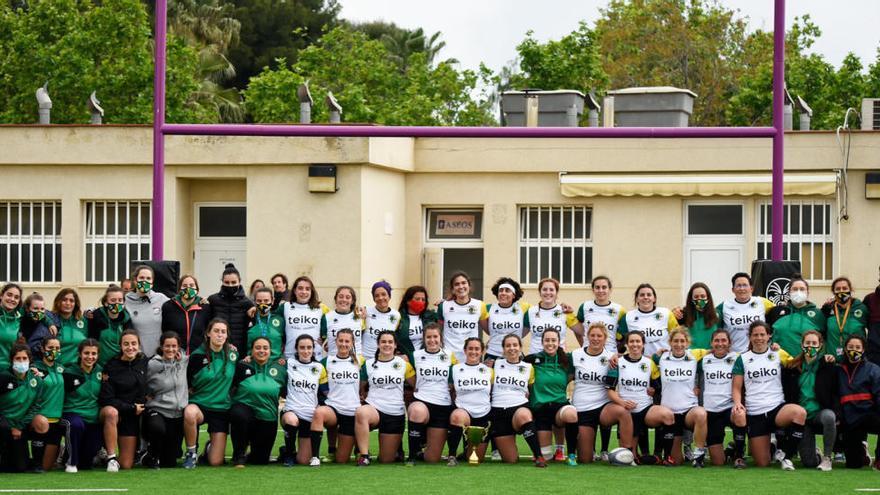 El Rugby Turia afronta la Copa de la Reina de Rugby 7's