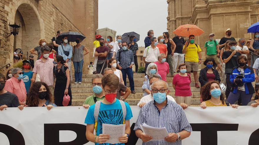 Unas 80 personas reclaman una moratoria de cruceros en Mallorca por el riesgo de contagio y el impacto ambiental