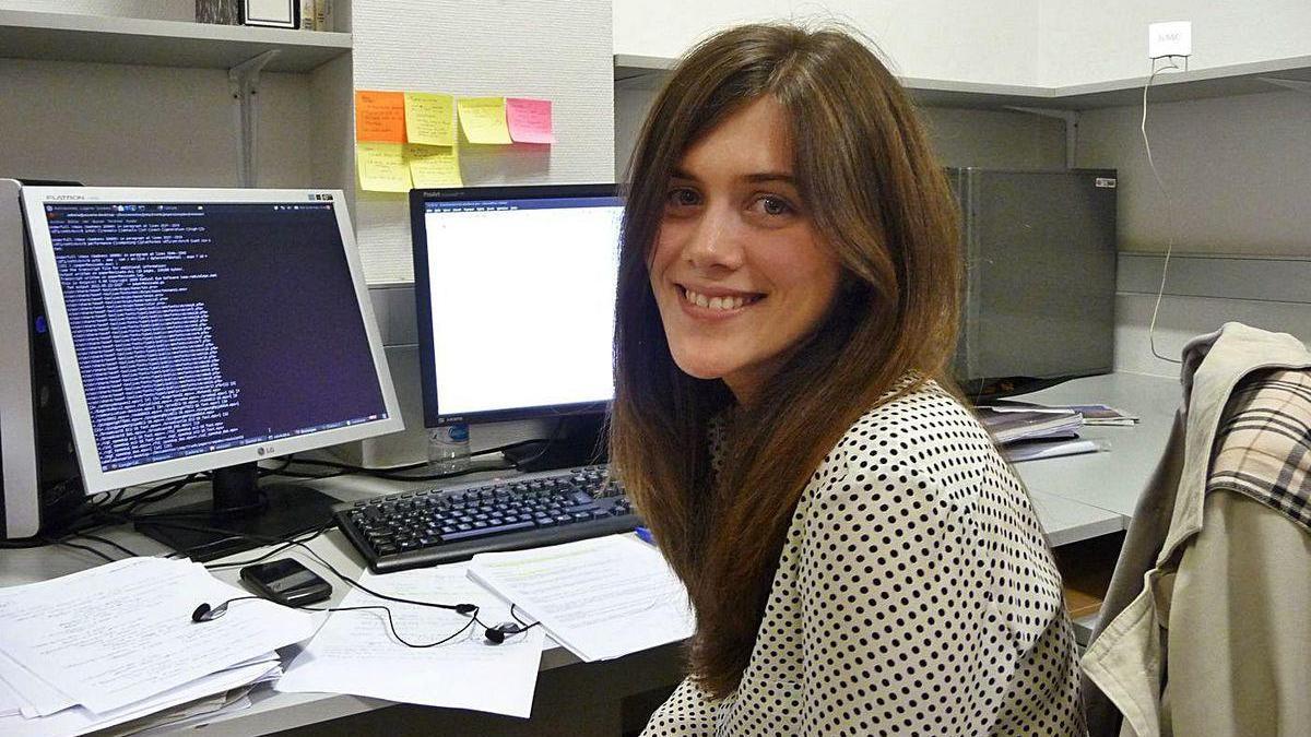 Sabela Ramos, ingeniera informática doctora por la UDC.