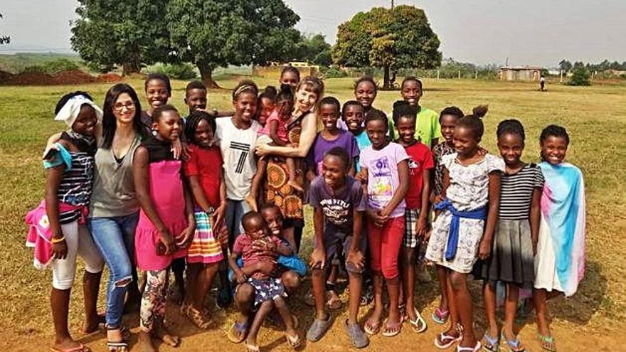 De Figueres a Uganda per portar ajuda humanitària a un orfenat