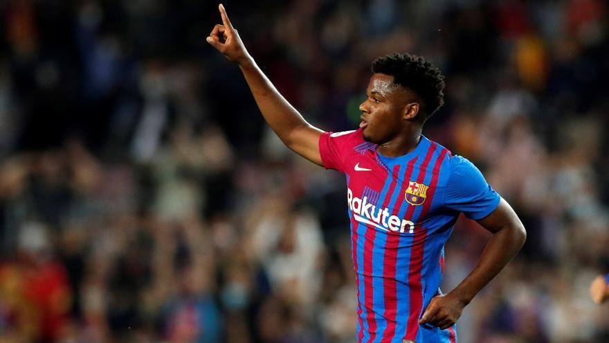 El Barça renueva a Ansu Fati hasta 2027.