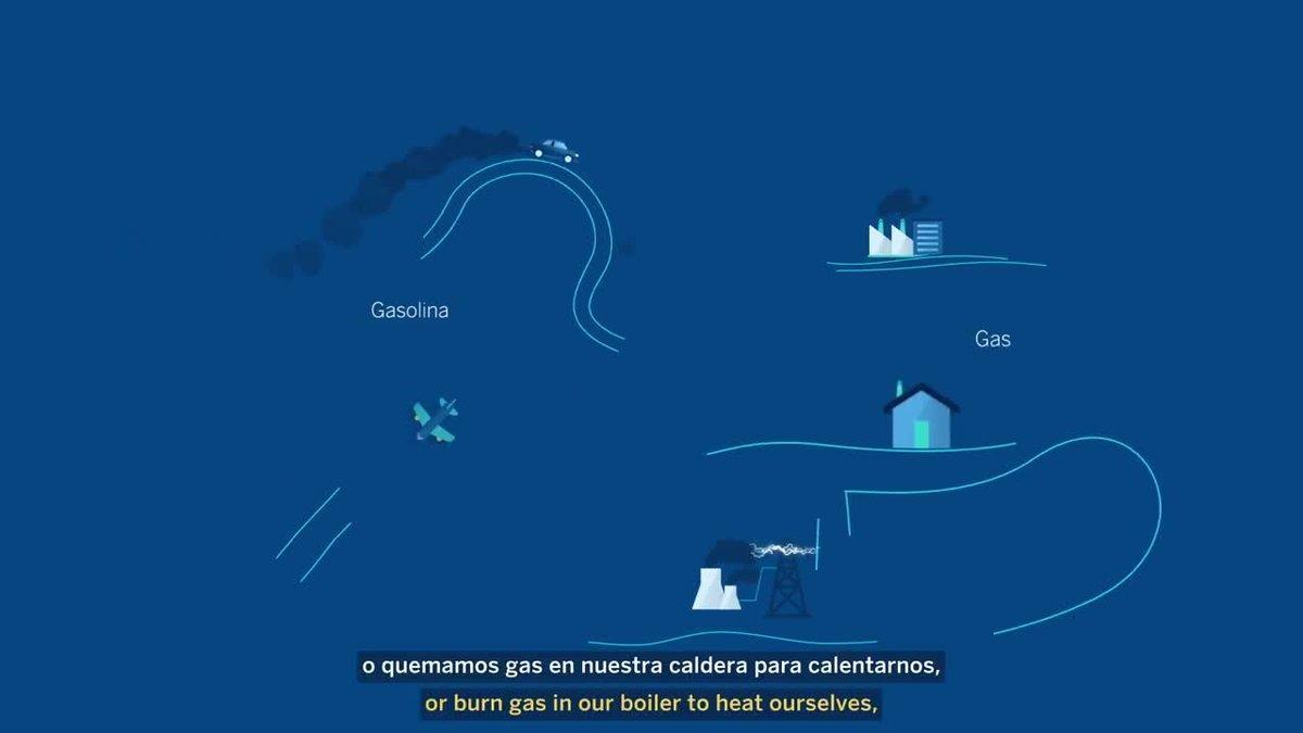 El BBVA permite a las empresas conocer su huella de carbono