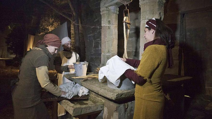 Món Sant Benetsuspèn la tercera edició del pessebre vivent al monestir