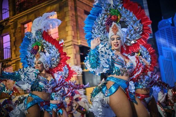 Concurso de comparsas de Santa Cruz de Tenerife 5. Cariocas  | 15/02/2020 | Fotógrafo: Andrés Gutiérrez Taberne