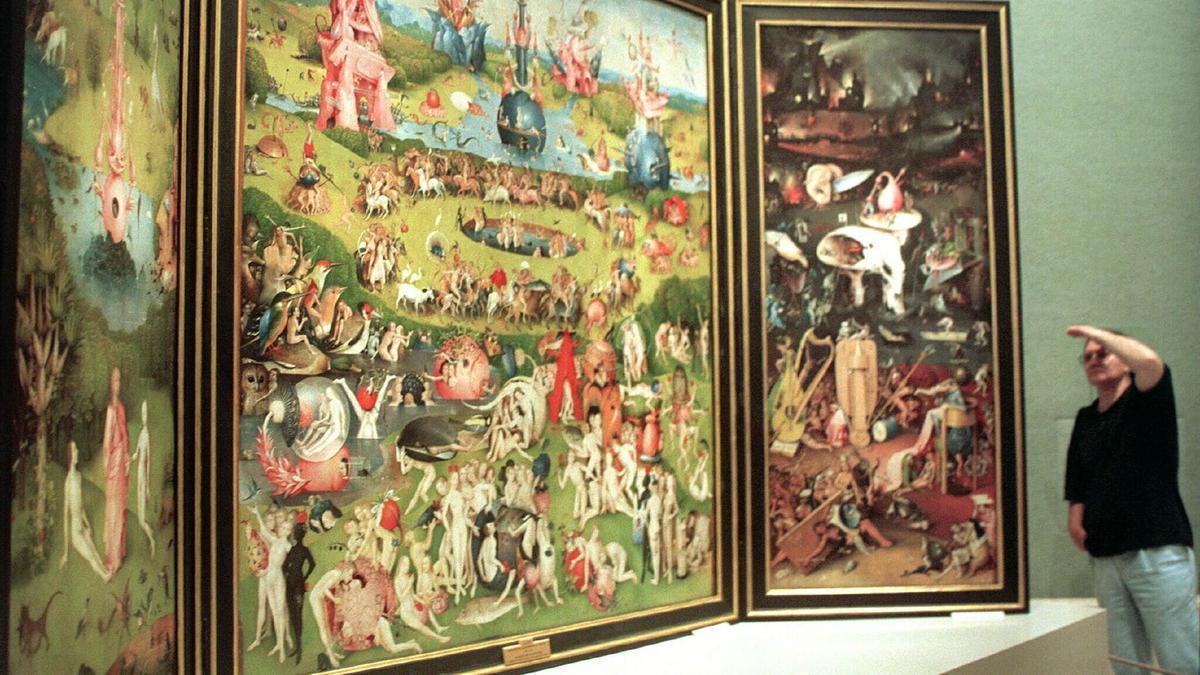'El jardín de las delicias' se encuentra expuesto en el Museo del Prado