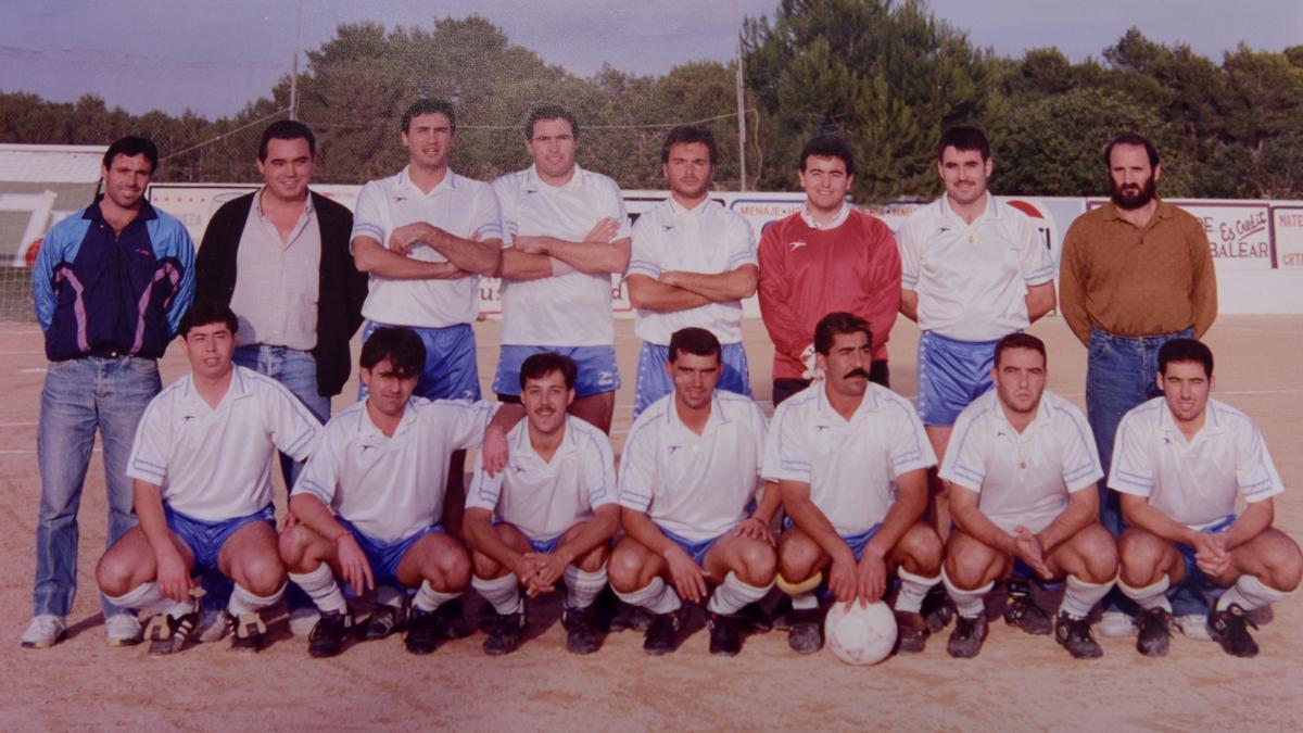 Noguera Hermanos, de fútbol laboral. Temporada 92-93.
