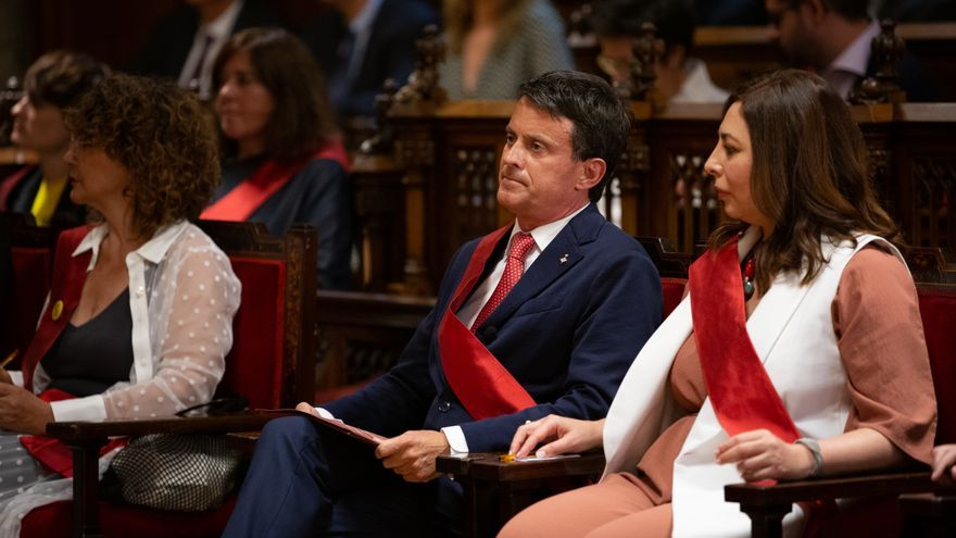 """El Tribunal de Cuentas detecta """"gastos electorales no declarados"""" de la coalición de Valls"""