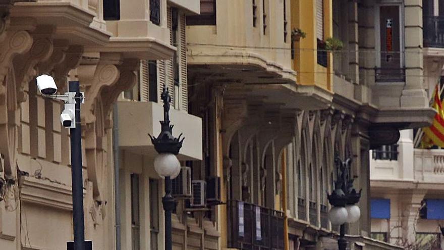 Movilidad afirma que ya están funcionando  las cámaras de Ciutat Vella