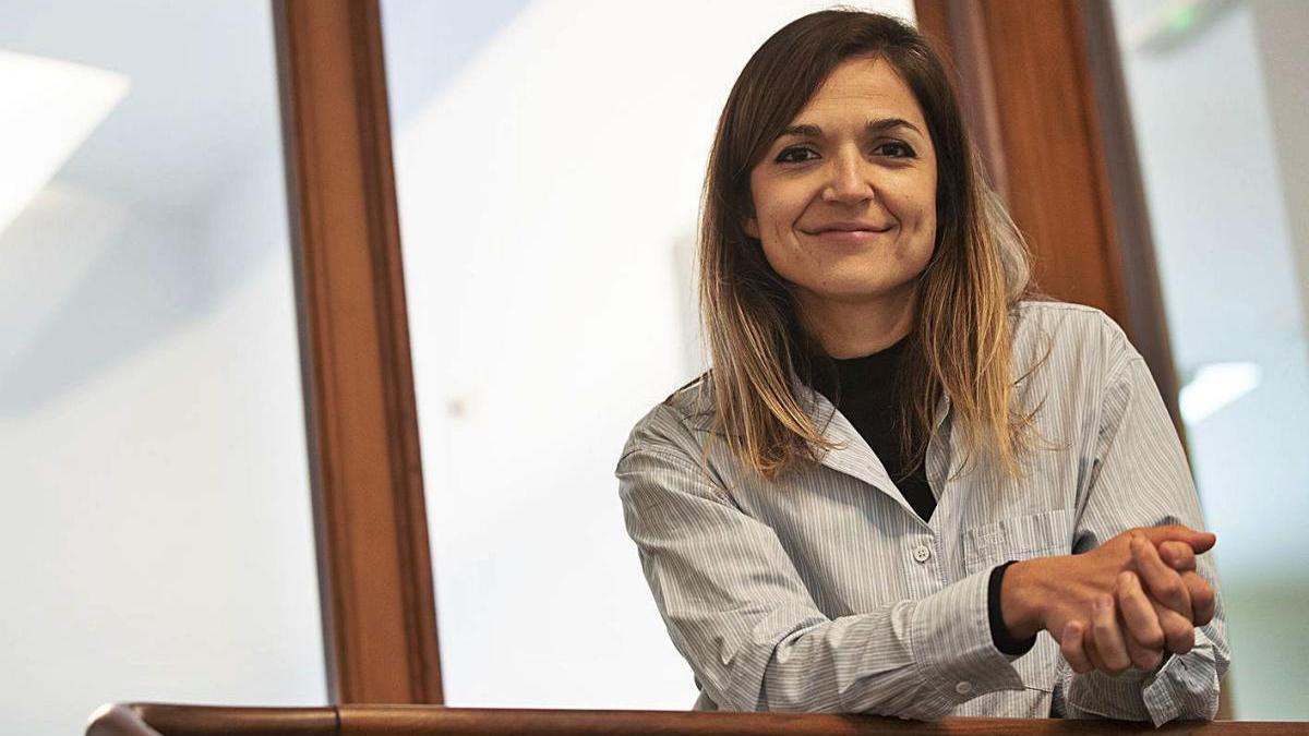 María Boluda, en las oficinas de Fundación Ingenio, en Cartagena.