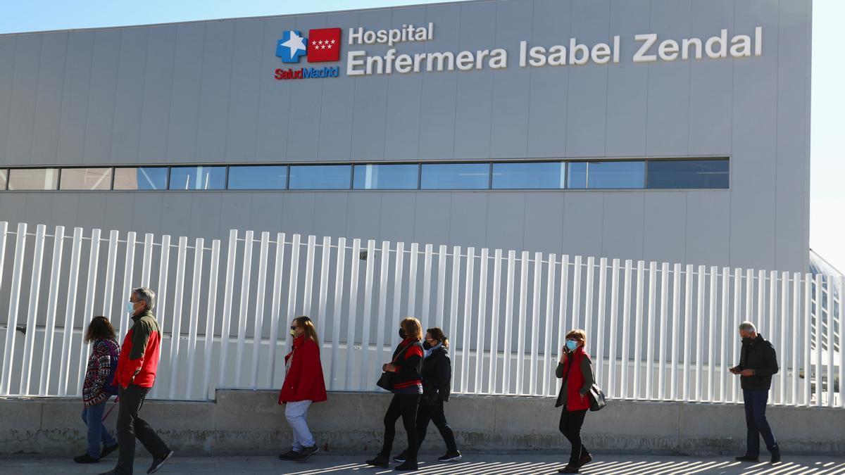 Fachada del Hospital Isabel Zendal.