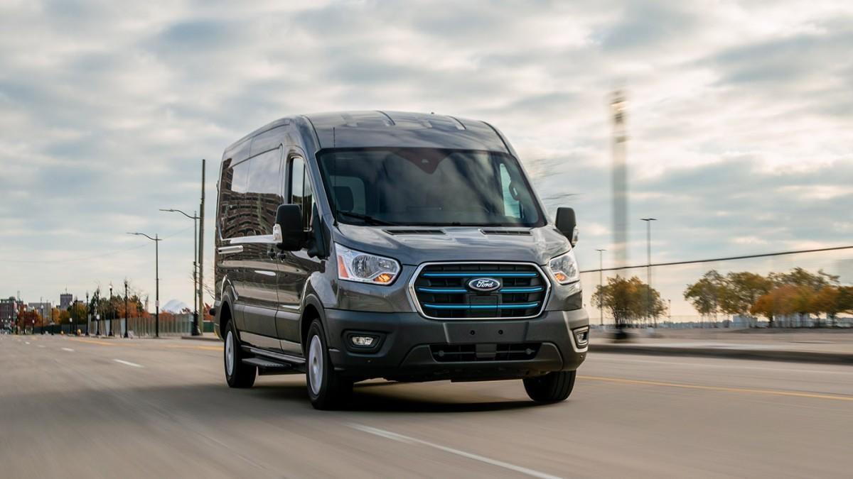 Ford presenta la furgoneta eléctrica E-Transit, que llegará en 2022