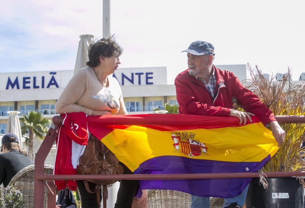 Homenaje al capitán del buque Stanbrook que permitió en 1939 salir de Alicante a miles de republicanos