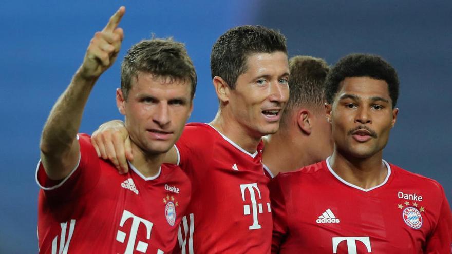 El Bayern de Múnich no da opción al Olympique de Lyon y se verá con el PSG en la final de la Champions