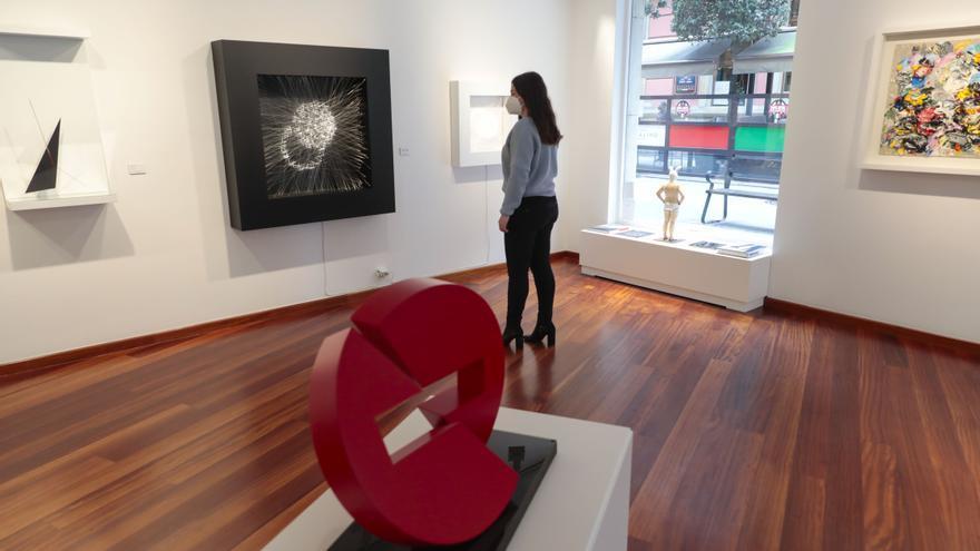 Las galerías de arte de Gijón rompen barreras