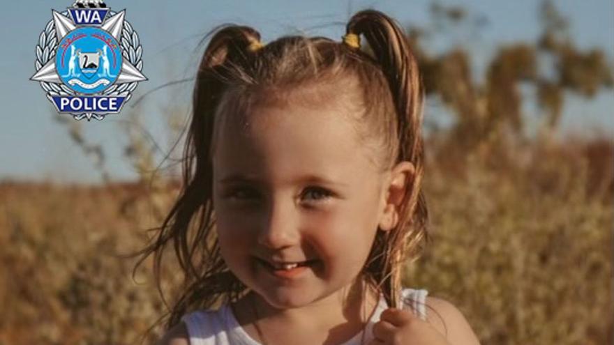 Desaparece una niña en Australia y ofrecen un millón de dólares por pistas sobre su paradero