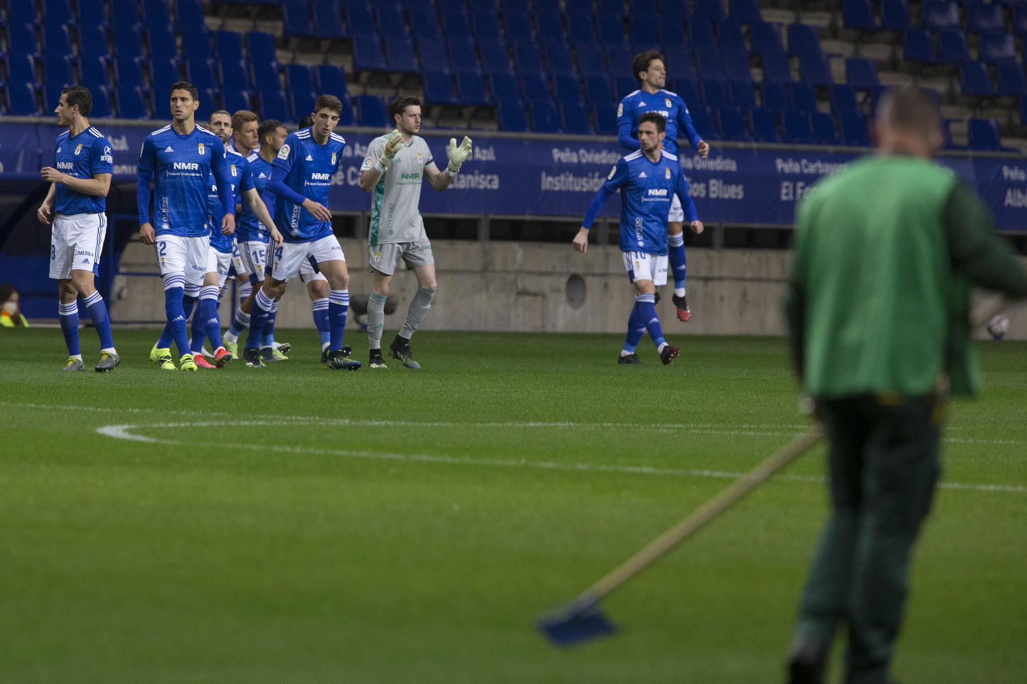 El partido del Real Oviedo ante el Leganés, en imágenes