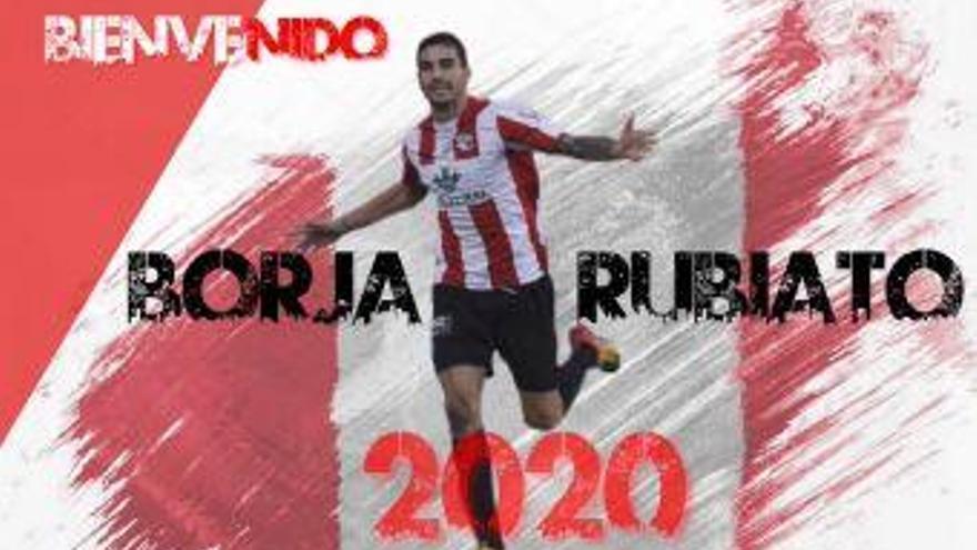Borja Rubiato regresa al Zamora CF