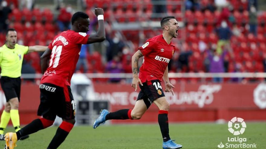 Vea aquí el resumen y los goles de la victoria del Mallorca ante el Zaragoza (2-1)