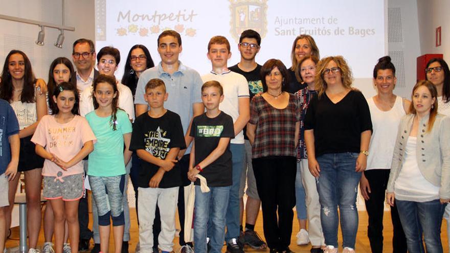 Entrega dels premis de la 30a edició del concurs infantil de contes Montpetit
