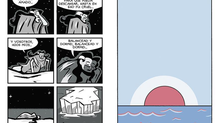 Viñetas del cómic 'Medea a la deriva' de Fermín Solís