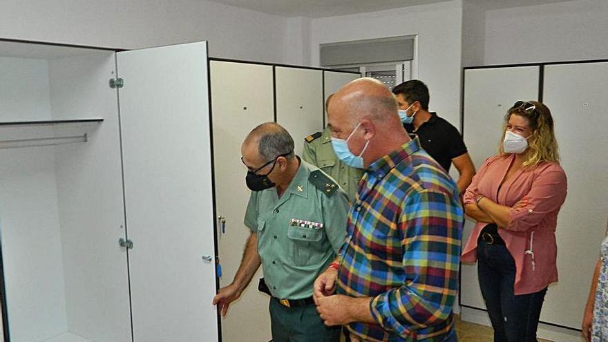 Finalizan en Rute las obras de mejora del cuartel de la Guardia Civil