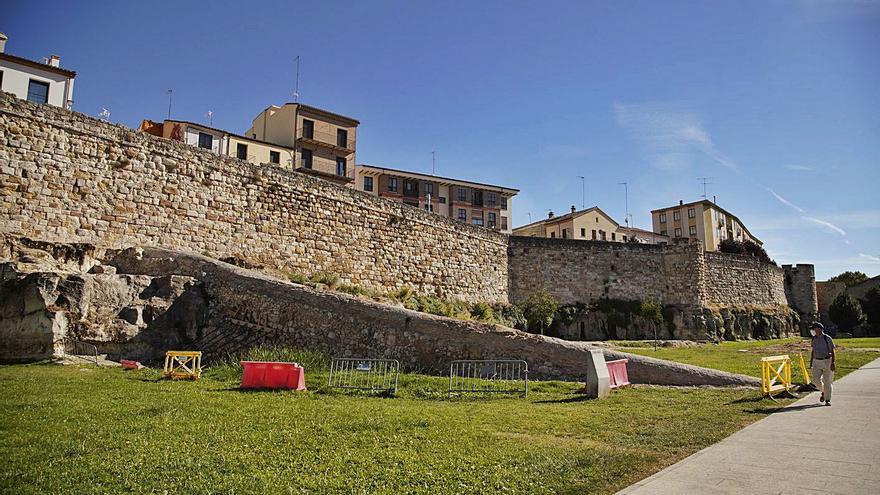 Guarido insta a actuar ya en la muralla de Zamora mientras se revisa el Plan Director
