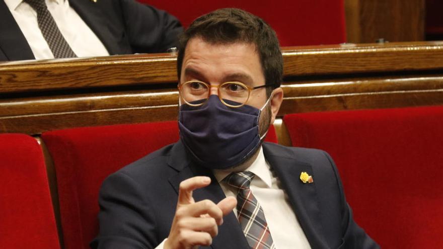 Aragonès veu el 50% dels vots com un «primer pas» però demana «estratègia» davant la «força» de l'Estat