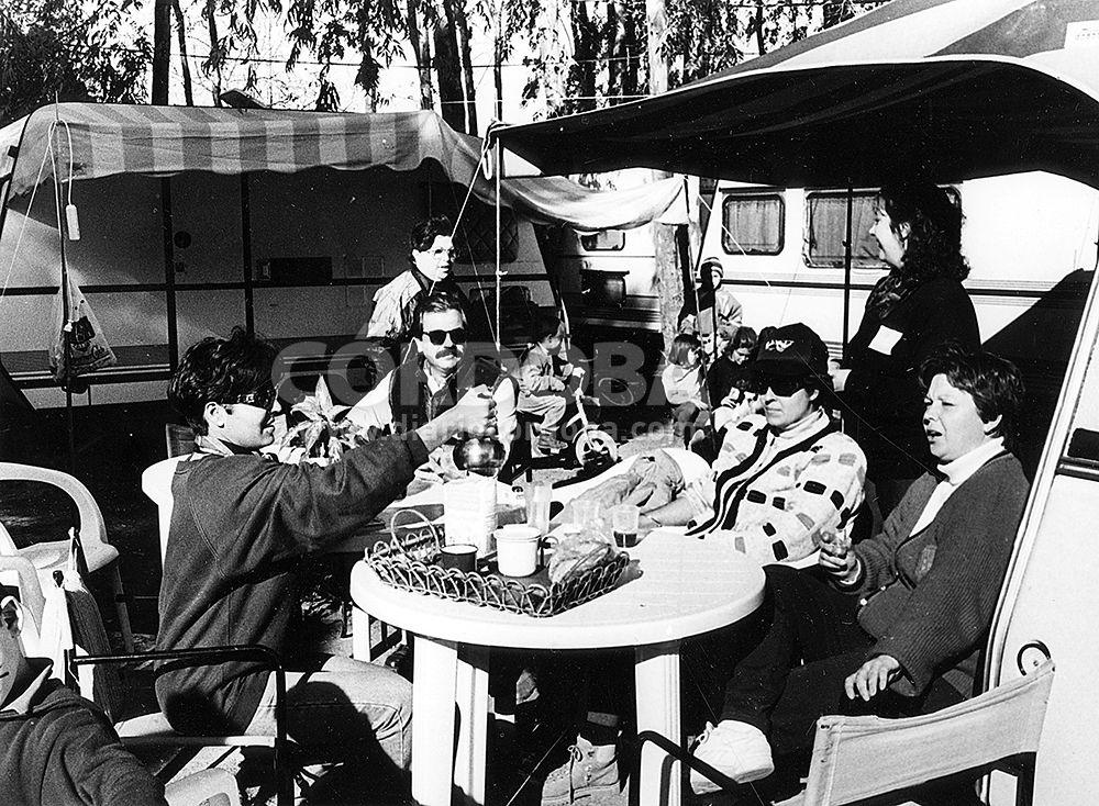 El camping de El Brillante, un espacio casi único